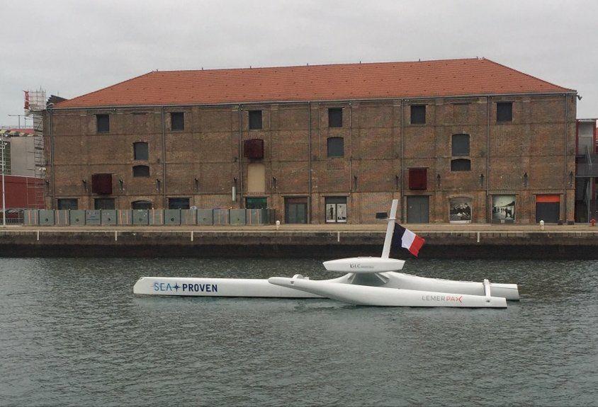Drone marin de la startup Sea Proven