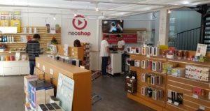 intérieur magasin neoshop